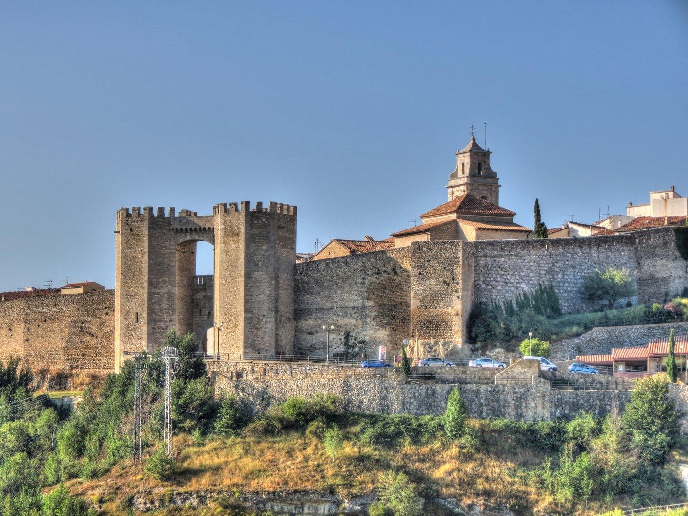 murallas  torres y puertas