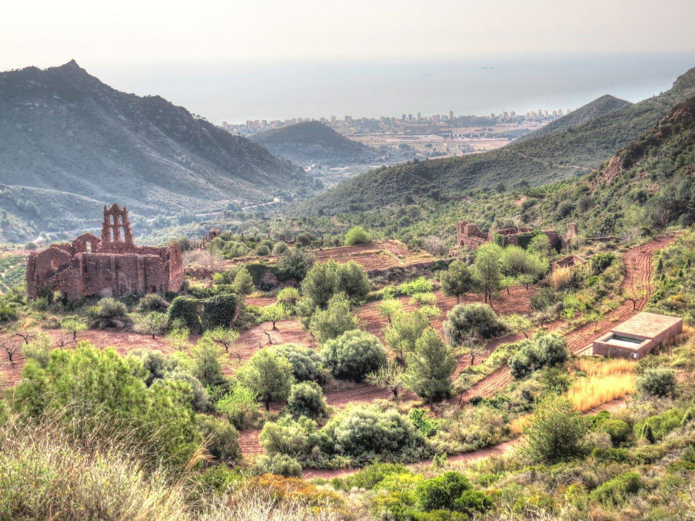monasterio panoramica