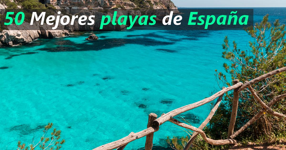 top playas espana 2018