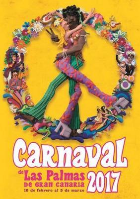 Cartel Carnaval Las Palmas de Gran Canaria 2017