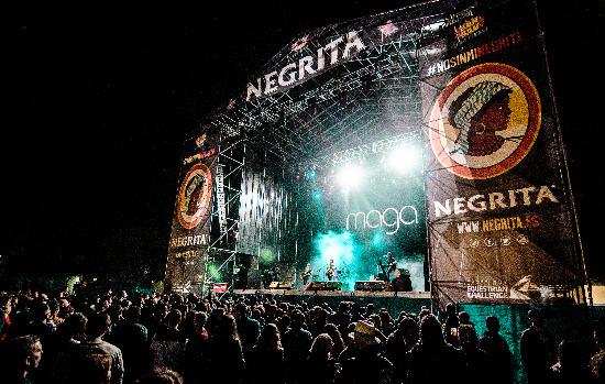 Escenario Desperados San San Festival 2017