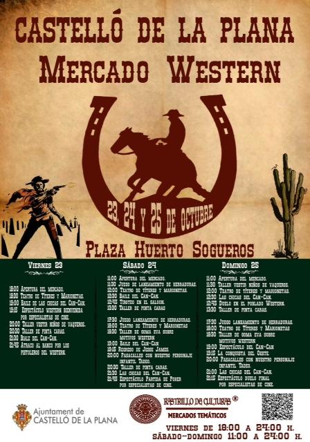 Mercadillo Western Castellón - Preparatufinde