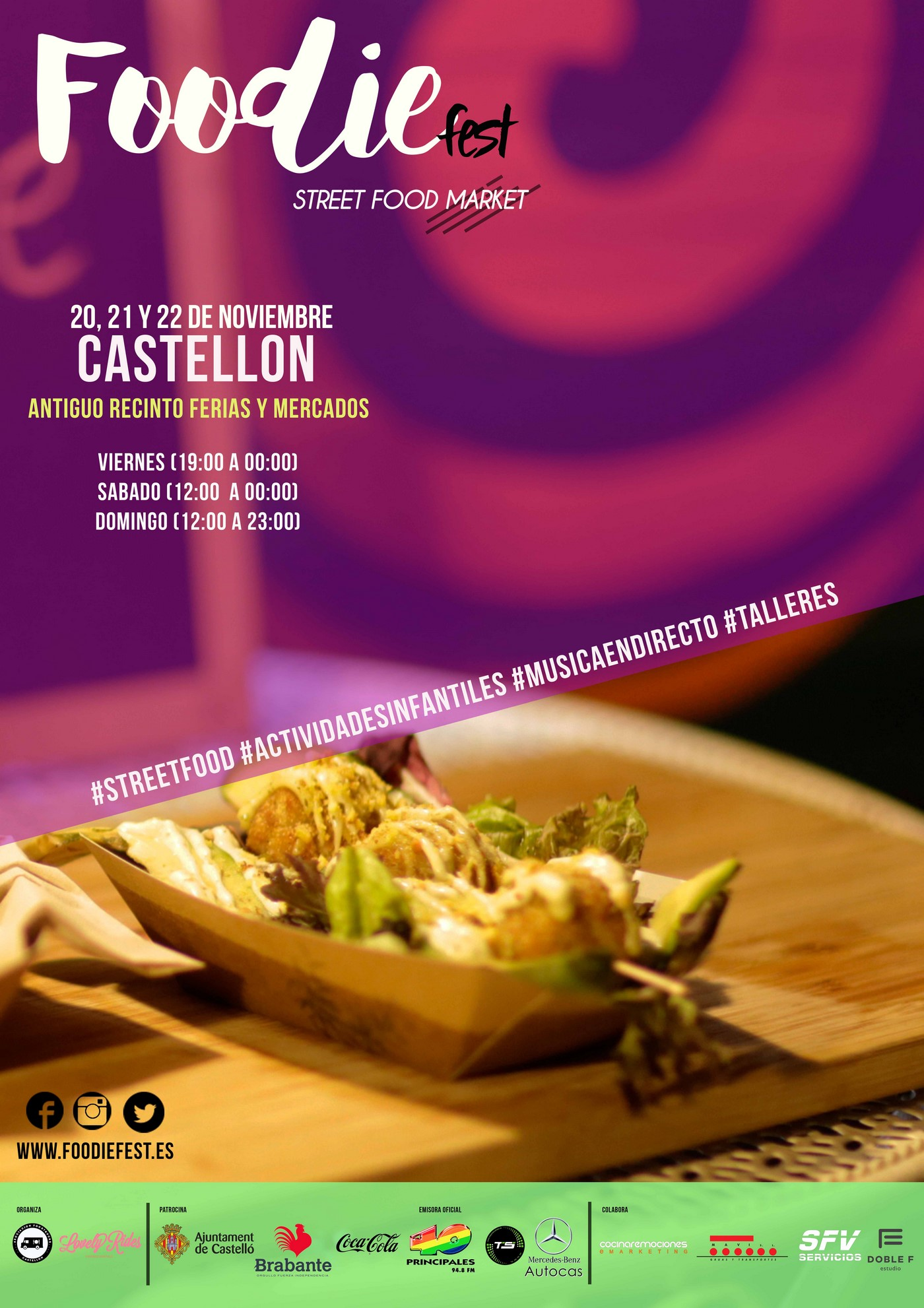 iv foodie fest castellon food trucks