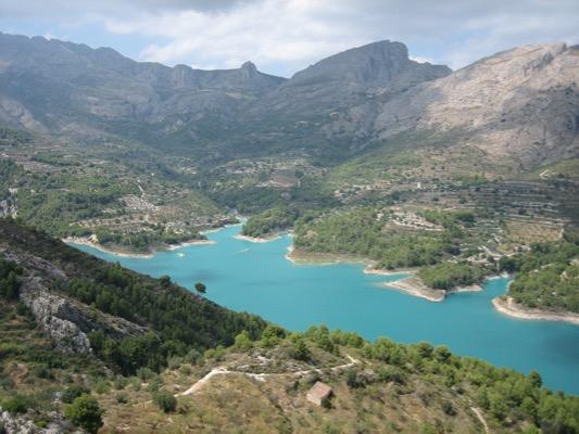 Ruta Pantano Guadalest