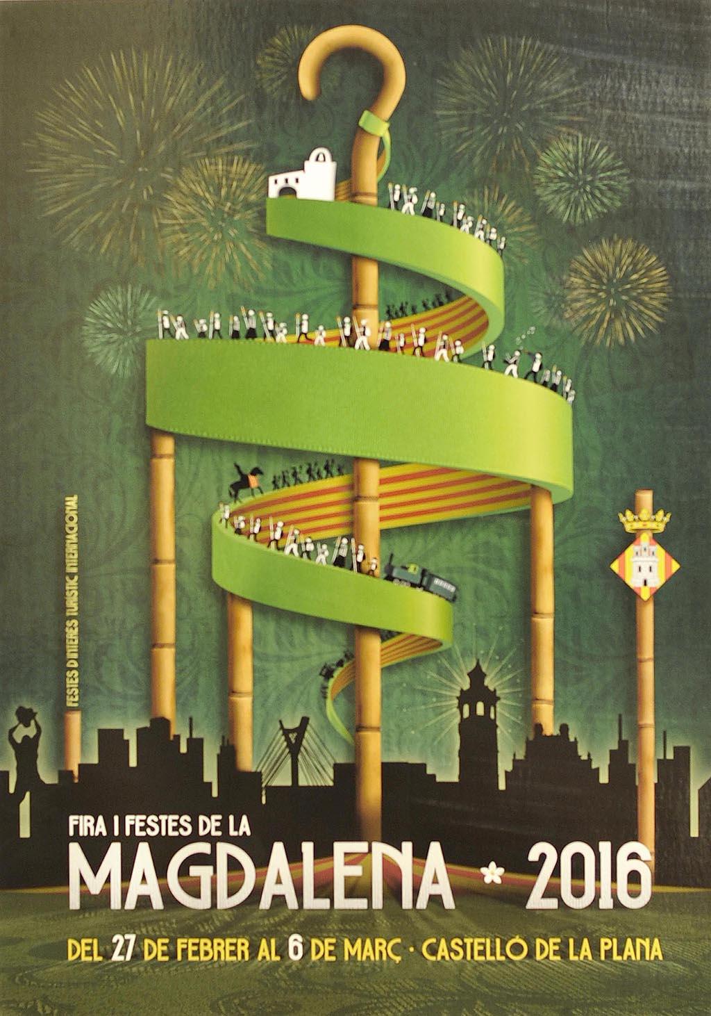 Cartel Fiestas de la Magdalena 2016