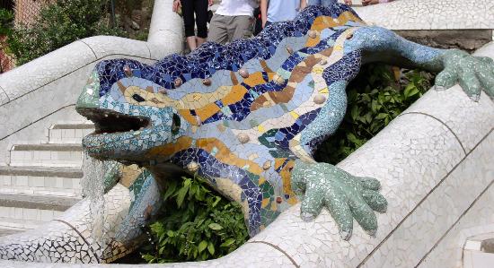 Dragón Lagarto Parque Güell