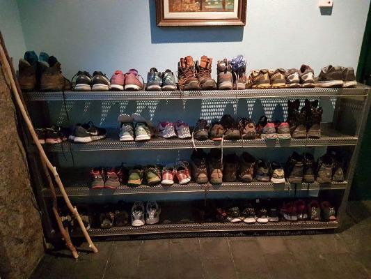 Zapatos Camino Santiago