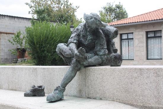 Estatua Camino Santiago