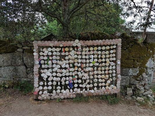 Conchas Camino Santiago