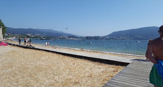 Playa de Cesantes Camino de Santiago