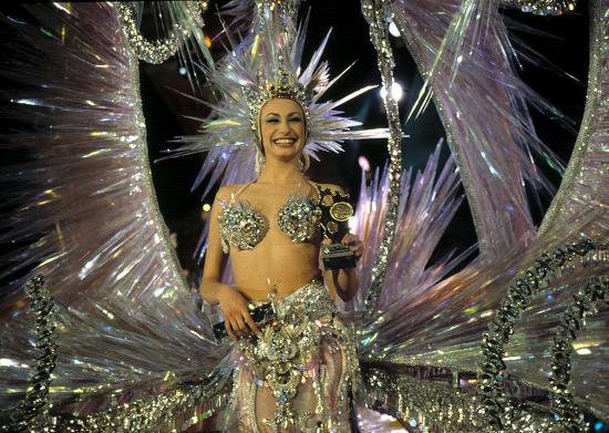 Candidata reina carnaval Tenerife