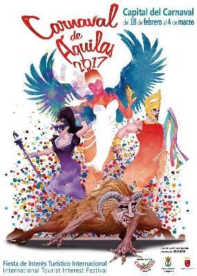 Cartel carnaval de Águilas 2017